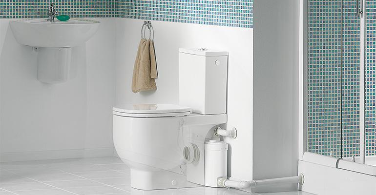 Cuarto de baño completo con Sanislim de Sanitrit