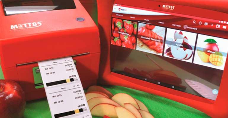 SDS Sistema automático de etiquetado de alimentos