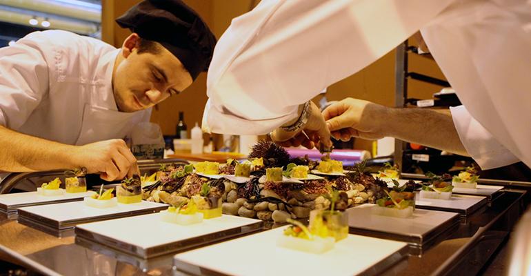 demostraciones salón de gourmets