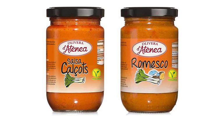 La Salsa Calçots y la Salsa Romesco Olivera d'Atenea