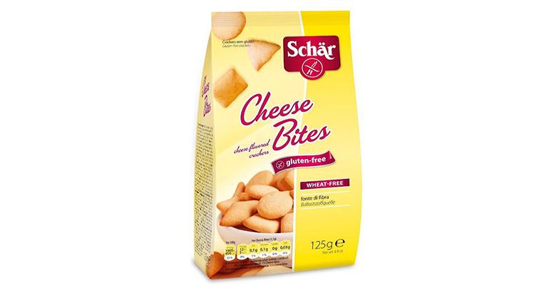 crackers de queso sin gluten