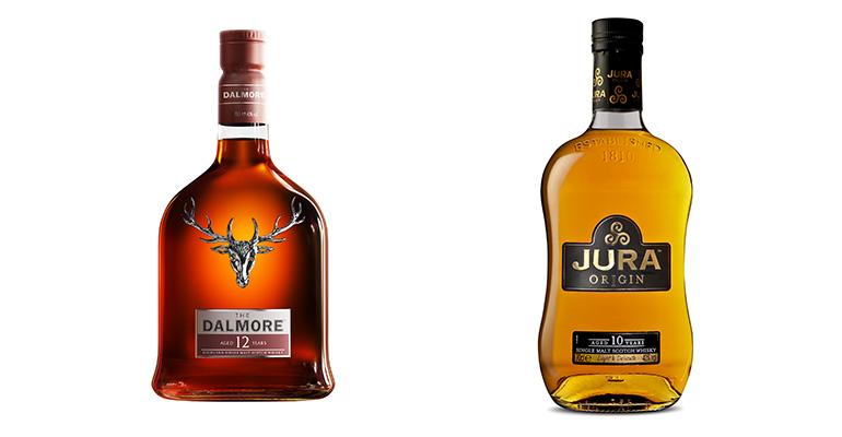 s Single Malt Whisky The Dalmore y Jura, de Whyte & Mackay.