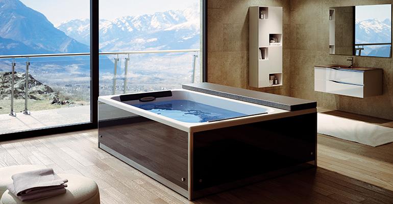 spa grandform en baño