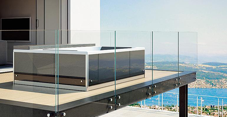 spa grandform en terraza
