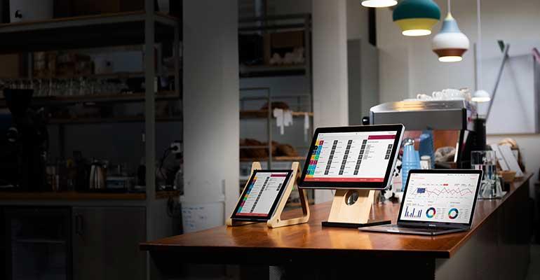 Sistema TPV en formato tablet