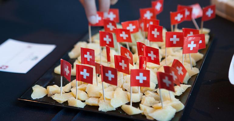 Cata de quesos suizos