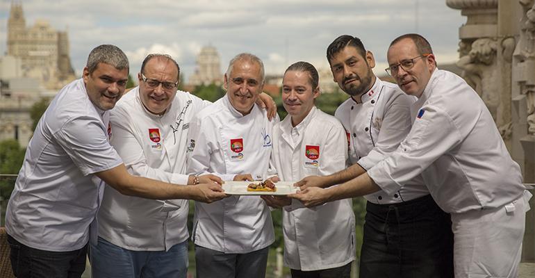Tapa cocineros dia mundial de la tapa