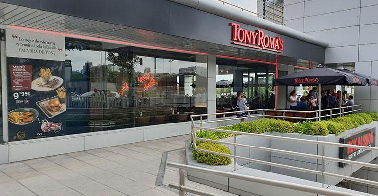 Restaurante Tony Roma´s
