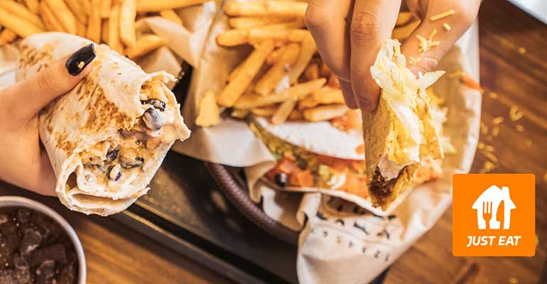 Taco Bell reparte a domicilio con Just Eat