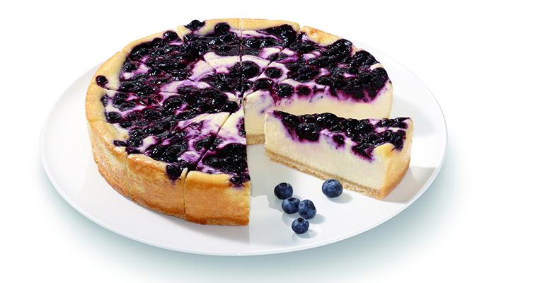 cheesecake con arándonos