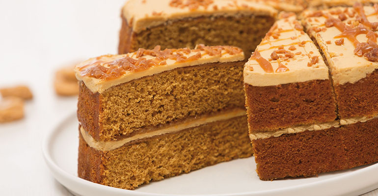 Tarta Toffee Cake Korfest Berlys
