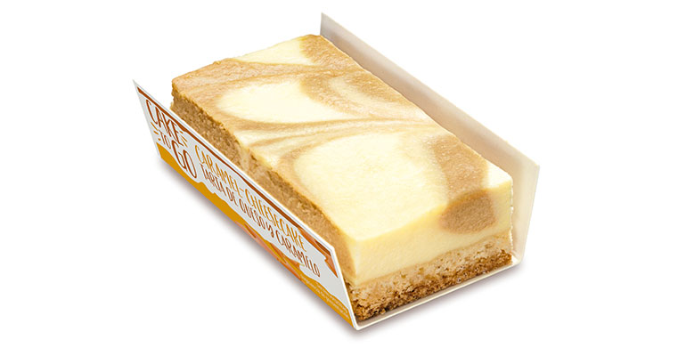 Tarta de queso y caramelo