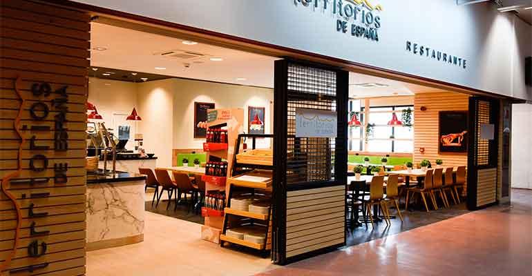 Restaurante Territorios de España en la Estación de Chamartín