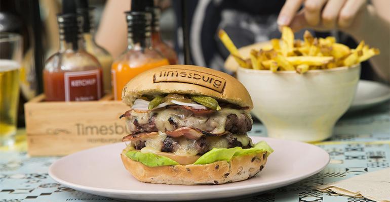 Timesburg hamburguesa