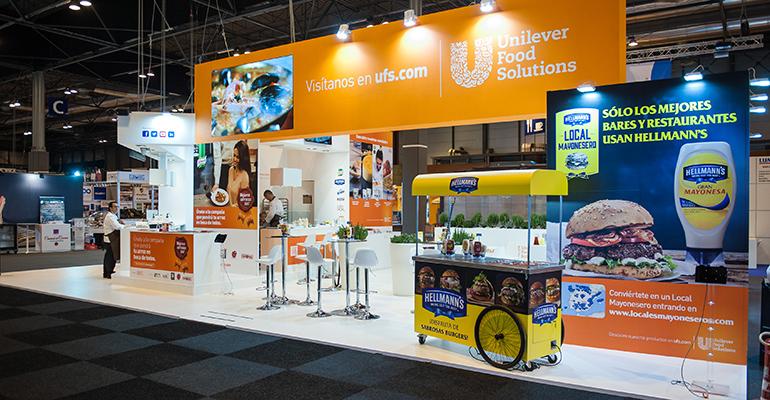 Stand de Unilever en la primera edición de HIP
