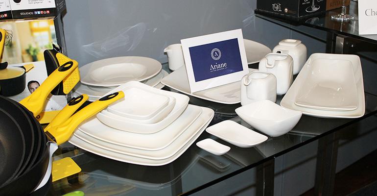 colección de vajillas profesionales Ariane
