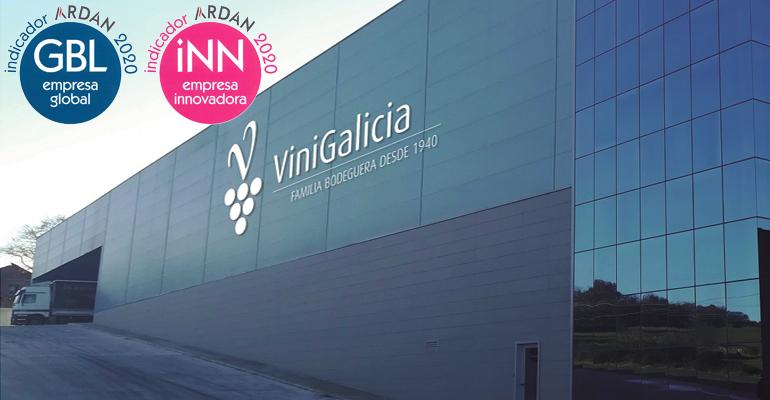 Vinigalicia es reconocida por su internacionalización e innovación