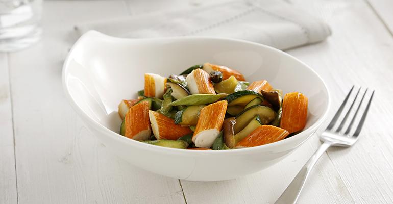 Wok verduras con chaca