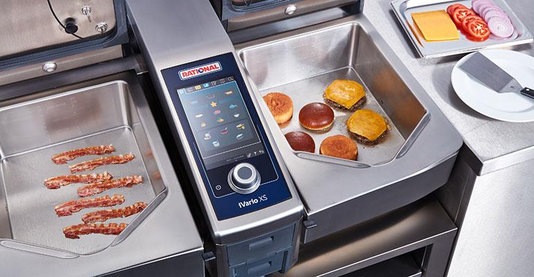 Rational propone el iVario 2-XS para las cocinas profesionales más pequeñas