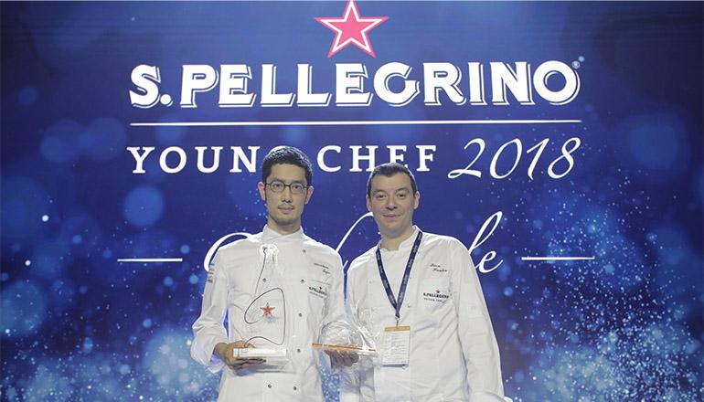 Yasuhiro Fujio junto a su Mentor Chef, Luca Fantin