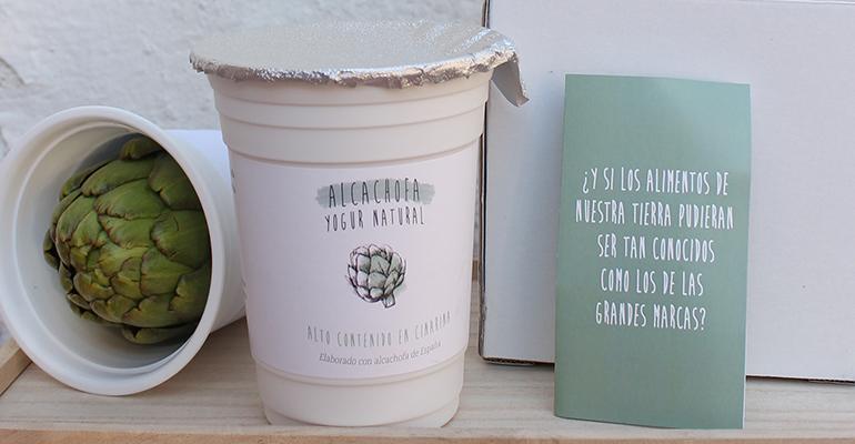 Yogur de alcachofa