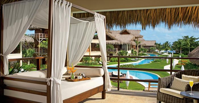 Habitación suite en el complejo Zoëtry Agua en Punta Cana