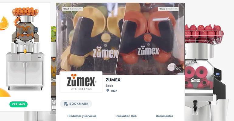 Zumex presenta en Fruit Attraction Live Conect sus soluciones de exprimido a medida