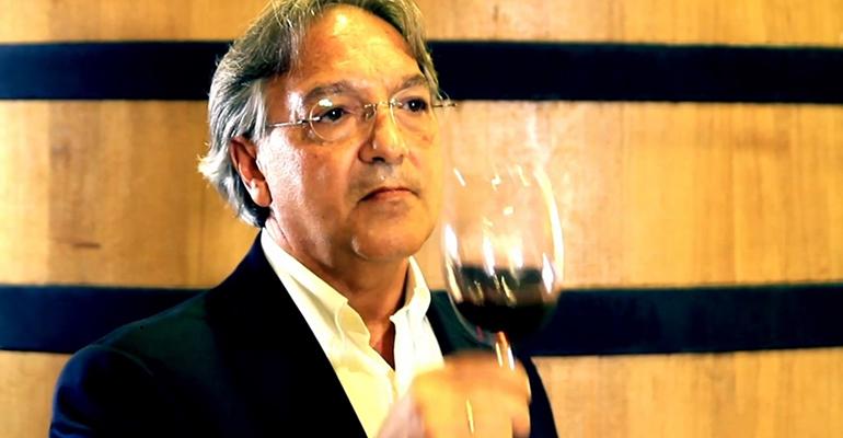 Luis Sánchez, enólogo de Bodegas Luzón