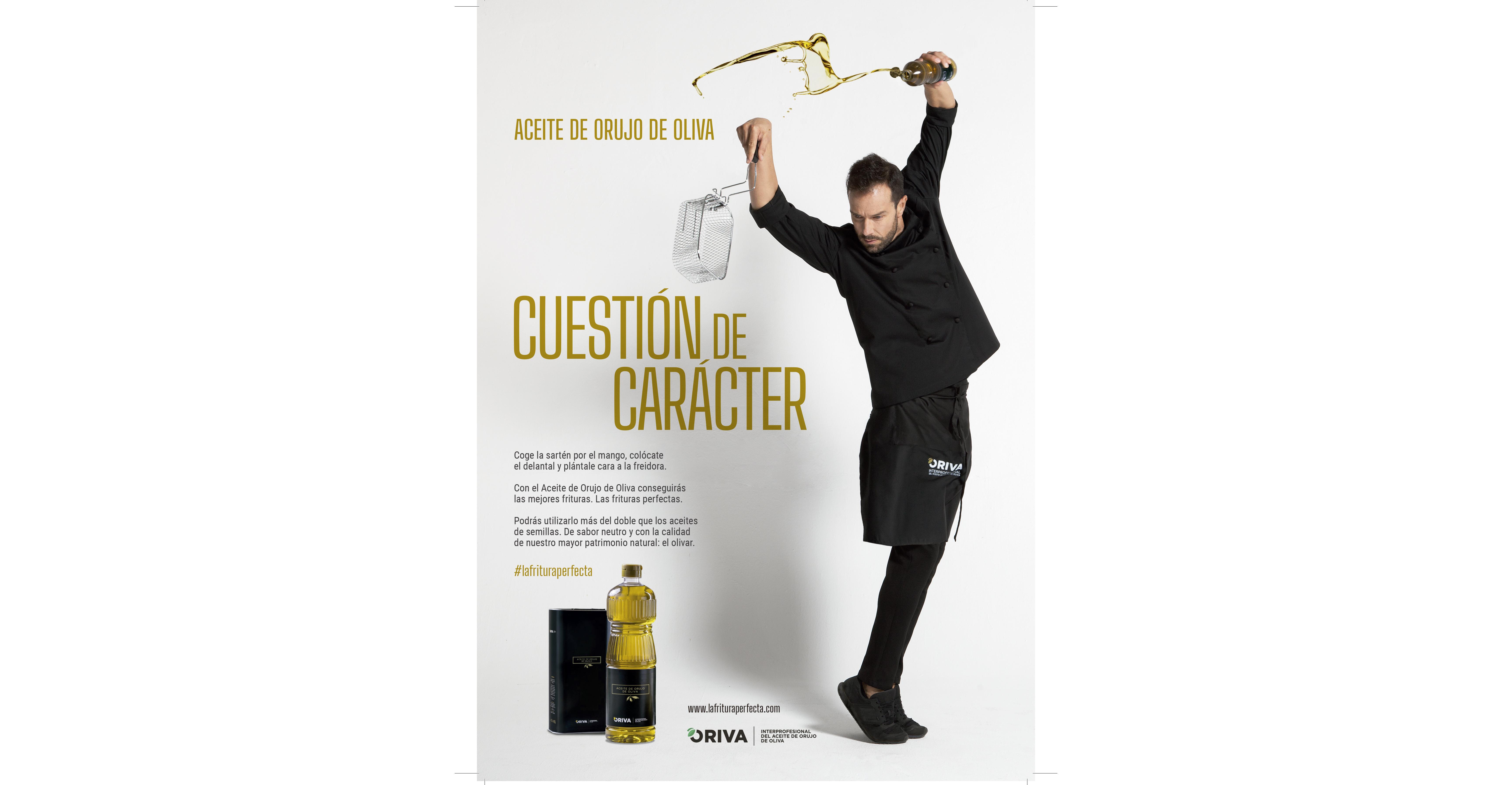 Oriva promueve el consumo del aceite de orujo de oliva en televisión