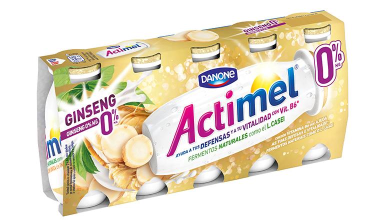 Actimel Ginseng 0% M.G