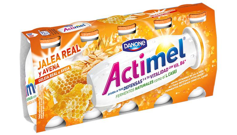 Actimel Jalea Real y Avena