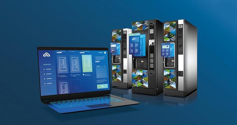 Nuevo portal web optimiza el control remoto de las máquinas expendedoras de vending