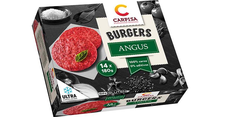 Línea premium de hamburguesas y línea clásica ultracongeladas para el canal horeca