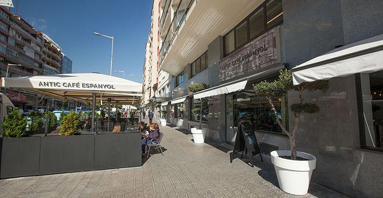 antic cafe terraza