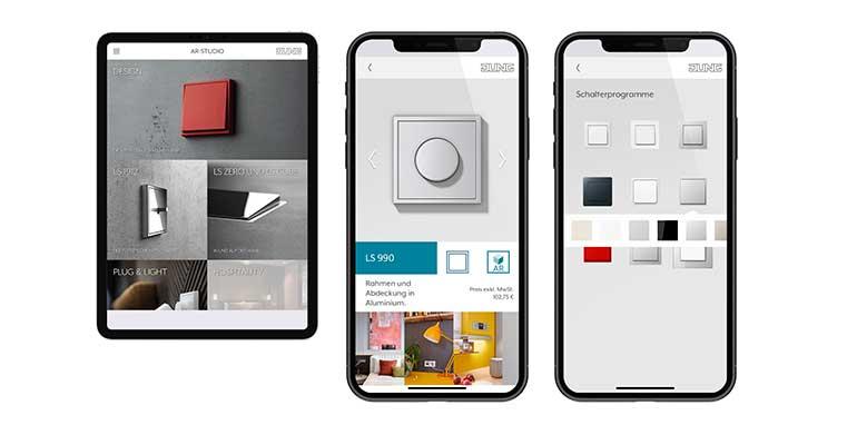 Jung crea una aplicación para planificar la decoración de interiores