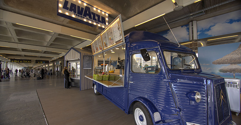 áreas food truck lavazza