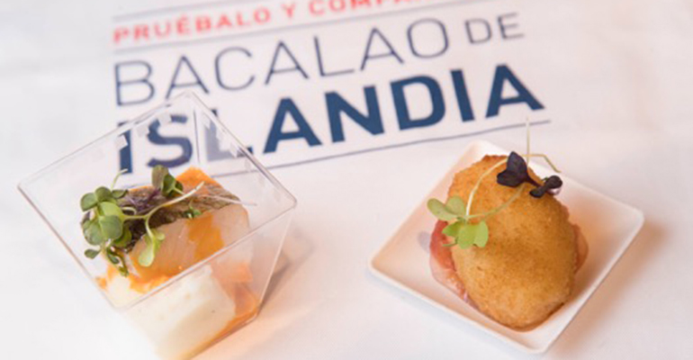 bacalao de islandia en Madrid Fusión