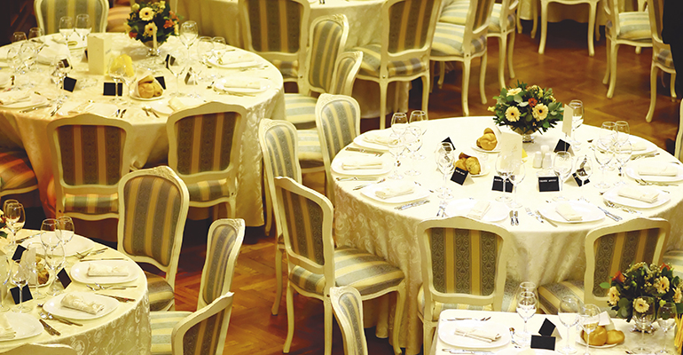 banquetes y celebraciones organización