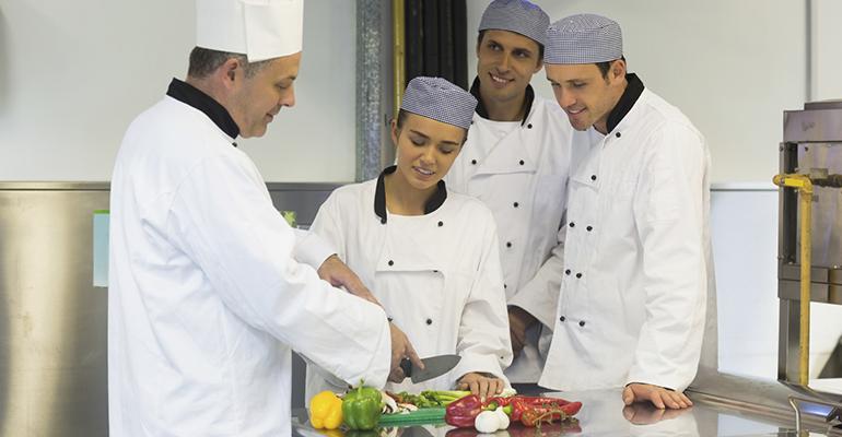 Becas para estudiantes de cocina