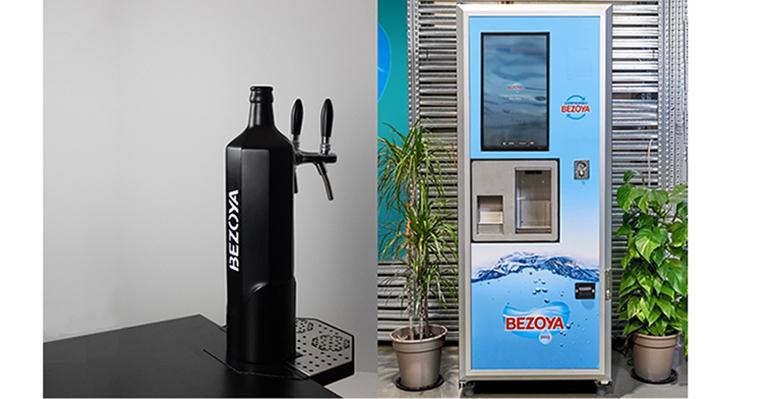 Bezoya lanza su agua mineral natural en grifo para hostelería