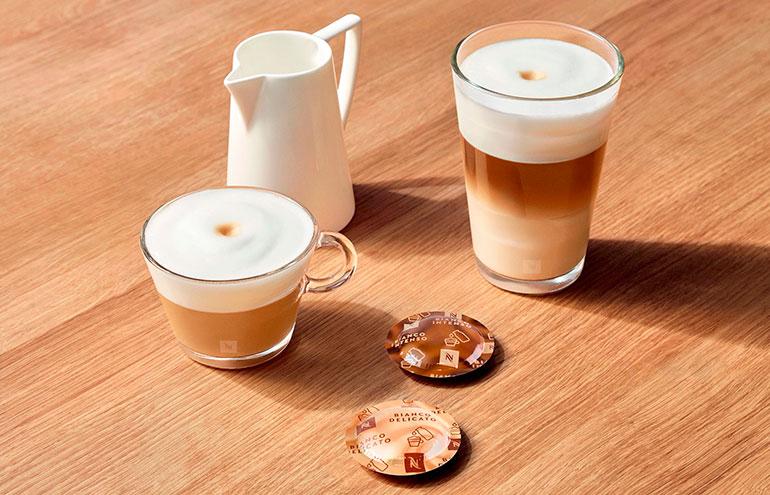 cafes con leche nespresso