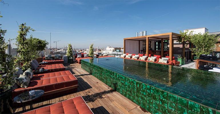 Bless Hotel Madrid Terraza