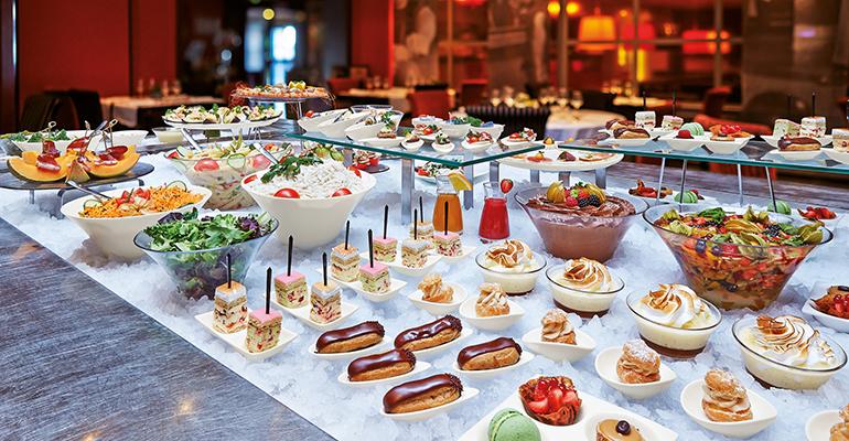 arcoroc buffet