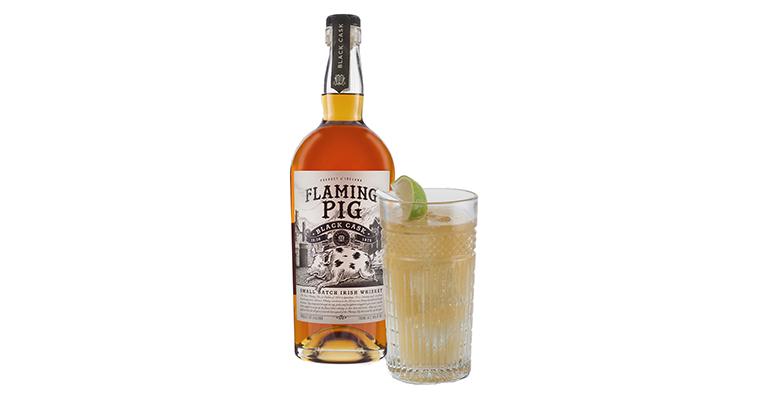 Flaming Pig es un whisky irlandés