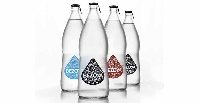 Nueva botella de vidrio bezoya para hostelería