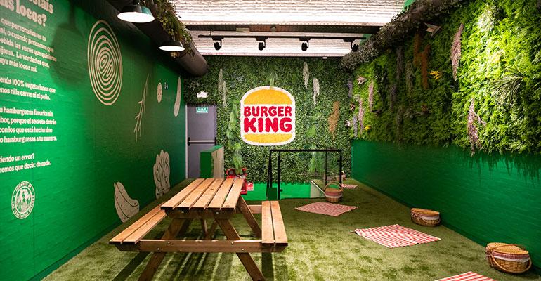 Burger King lanza Long Vegetal y abre su primer restaurante 100% vegetariano