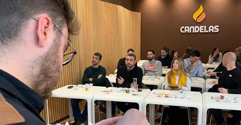 Café Candelas instruye sobre café a los hosteleros gallegos
