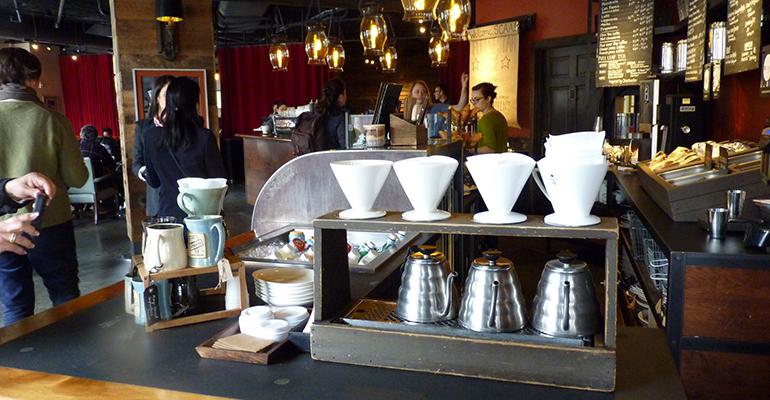 Cafés tendencias Seatle