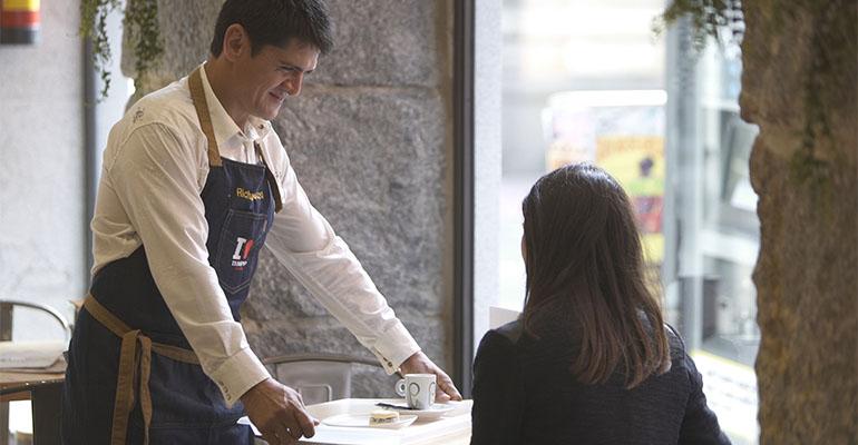 Imagen del cortometraje de Templo Cafés
