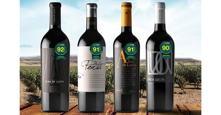 vinos de Luzón en Guía Peñín 2018